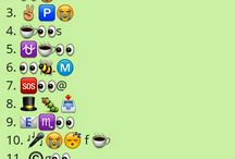 Whatsapp Emoticons Quiz / Whatsapp Emoticons Quiz where you have to guess or identify things , words , names from the emojis / smileys.