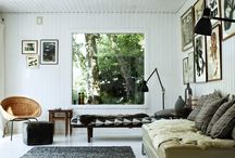 at home /  get together / - interior living spaces to share