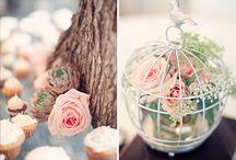 . floral arrangements .