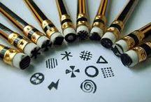 Creatii manuale cu creioane