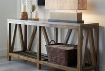2017 Modern Transitional Home / Ideas for creating a modern home but using woods and exaggerated furniture to make it transitional.
