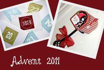 Advent Project for Vivi 2011 / #christmas #advent #preschool