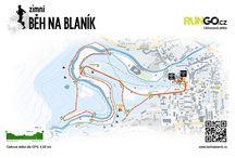 Běžecké trasy a mapy