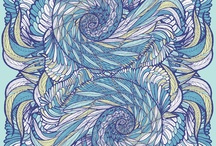 Patterns / Illustrations, photos or prints presenting beautiful patterns / by Melissa Brunet