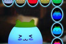 Creative Cute Mascot Night Light