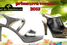 temporada primavera verano 2015 / sandalias , zapatos  para la temporada primavera verano 2015. grandes diseños con calidades 100% made in spain