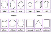 Kleuters vormen en kleuren