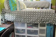 College Dorm Decor / This board will show pins full of ways to decorate your new college dorm room! There are examples of DIY projects, bedding and fun ways to organize your room. / by Hocking College