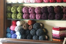 Enchanted Yarn Rooms / Inspiring yarn rooms, organization, spaces & more! / by CreatiKnit