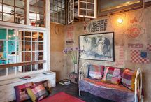 Interiors - Rustic / Cool and interesting ideas for decorating your second home -- or even your primary residence. Get that vacation feeling all year round!