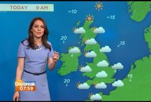 ITV Daybreak Laura Tobin Dresses and Style / A selection of morning TV Weather presenter Laura Tobin's styles