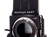Mamiya RB67 Professional Medium Format SLR Film Camera Body 120 Film Back Japan