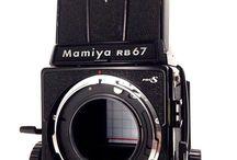 Mamiya RB67 Professional Medium Format SLR Film Camera Body 120 Film Back Japan