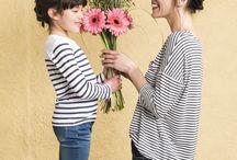 """En Mode """"Mini-me"""" / A l'occasion de la fête des mères, découvrez une sélection de look pour les modeuses de mère en fille."""