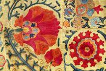 Fabrics / by Carol Hewitt