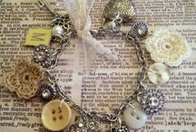 Repurposed jewelry II / old to new / by Mary Thompson