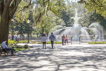 Savannah, Georgia outdoors: our favorite hiking & running trails / It's time for a #roadtrip! Hike, run, walk or backpack these top trails near Savannah, exploring the city's historic district and nearby Atlantic coast.