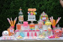 Wedding Candy Tables!