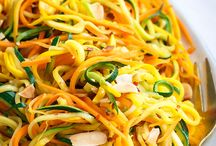 Spiralized dishes