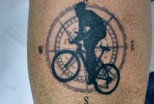 tatuaże rower