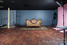 """Fairfield Bay Photography Studio / My photo studio, from start to (almost) finished. Well, it will never be truly """"finished"""" - I always see things I like better!"""
