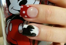 Nail Designs Mickey Mouse