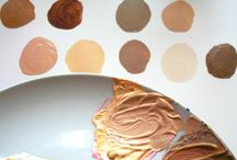 Skin tones in painting Acrylics