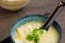 Soup's  / by Connie Erzinger Brown