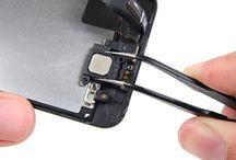 Utskifting av iPhone 5s samtalehøyttaler