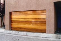 Garage Doors - Wood