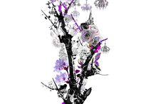 Imagine | Part II / Este proyecto brilla por la aparición del color violeta prestándole eternidad y magia,  y por la presencia de lámparas araña haciendo que este diseño deslumbre de elegancia.