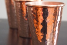 Interior Design | Copper Homewares / I am obsessed with copper, especially in homewares.
