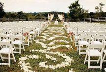 Bodas al aire libre / Casarse en las fechas cercanas a abril y octubre es ideal celebrar una boda al aire libre.