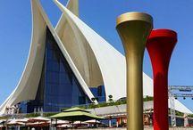 Dubai Creek Golf & Yacht Club / Hubert Prive artiste Sculpteur expose à Dubai jusqu'en Décembre ! à ne pas manquer