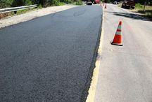 Asphalt Paving Operations in California / Photos of asphalt paving operations in California.
