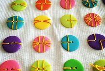 Distintas formas de coser un botón