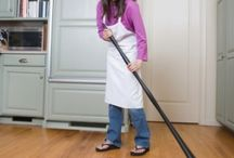 How to Clean High Quality  / When using the vacuum you should also use a soft flooring attachment. / by Home Interiors Zone
