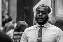 Street photography / Street photography, street portrait, black and white world