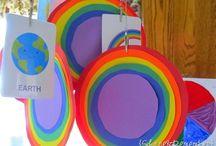 Rainbow Ideas / by Evan Sherwood