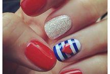 Nails art:) / Ski bum