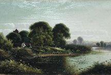 Painted Romantic Landscapes