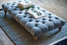ottomans and benches / ottomans and benches - interior design inspiration