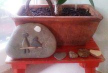 Arte en piedra. / emocion echa de pierdas