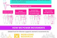 How To Make A Movement / Movements are powerful and one of the best ways to protect and promote the rights of women. Learn what a movement is an the impact it can make! / by Global Fund for Women