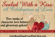 RFTC Sealed With a Kiss: A Celebration of Love Event 2016 / Historical romance authors come by to share love letters written in the POV of their characters.