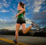 running / by Somerset Davidson