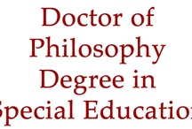 UNLV College of Education Doctoral Degree Programs / Brief information regarding the various doctoral degree programs offered through the UNLV College of Education. / by UNLV College of Education