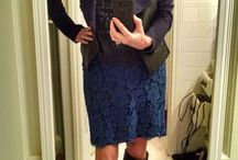 Fashion for Mid-Life by Gwin Gal / Middle age? We CAN still be fashionable! Examples here.