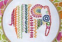 Stitch Me: Embroidery/Cross Stitch / by Emily Koyfman