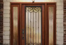 Classic-Craft Rustic Collection / Designed to complement American Southwest or Tuscan-inspired home styles, Classic-Craft Rustic premium fiberglass entryways feature casually elegant wood grains that can be coordinated with decorative glass and accessories to create enhancing entrances.